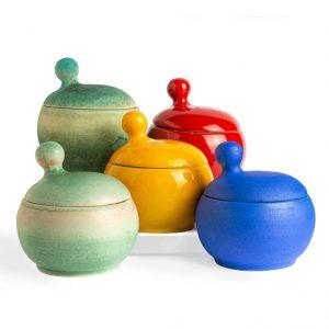 Pottery, Glass, Wood & Metal